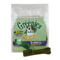 Greenies Senior Treat Pack, Large, 12 oz ( 8 Treats)