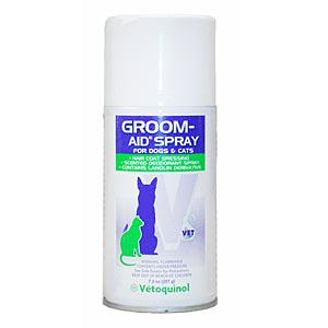 Groom-Aid Haircoat Dressing