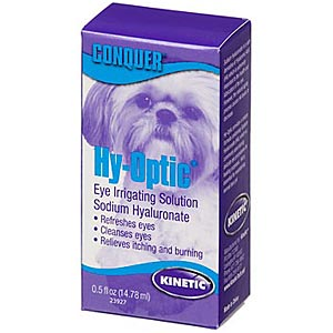 Kinetic Hy-Optic Eye Irrigating Solution with Sodium Hyaluronate, 0.5 oz