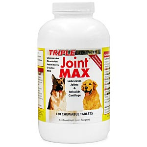 Joint MAX Triple Strength, 120 Chewable Tablets