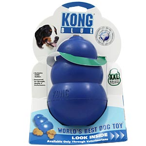 Kong Toy, Blue, Extra Extra Large 85 lbs and Up