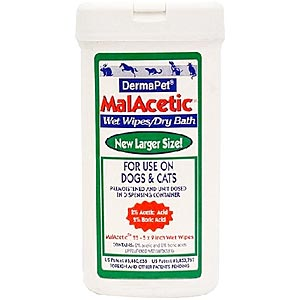 MalAcetic Wet Wipes, 25
