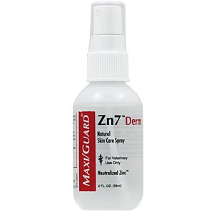 MaxiGuard Zn7 Derm Spray, 2 oz