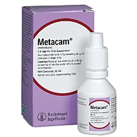 Metacam (meloxicam) Oral Suspension 0.5 mg/mL, 15 mL