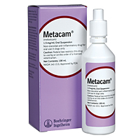 Metacam (meloxicam) Oral Suspension, 1.5 mg/mL, 100 mL
