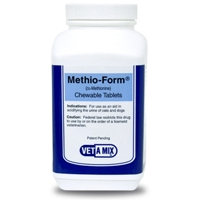 Methio-Form Chewables (DL-Methionine) 50 Tablets