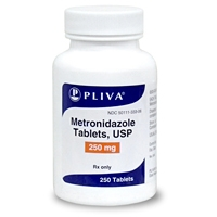 Metronidazole 250 mg, 100 Tablets