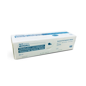 Needles 25 gauge x 5/8 in, Monoject, 100