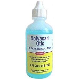 Nolvasan Otic Cleansing Solution, 4 oz