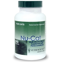 Nu-Cat Multi Vitamin Mineral Formula, 240 Tablets
