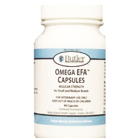 Omega EFA Capsules For Small & Medium Dogs, 90 Capsules