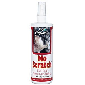 Pet Organics No Scratch! For Cats, 16 oz.