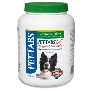 Pet-Tabs OF (Original Formula) Vitamin Mineral Supplement, 365 Tablets