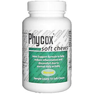 Phycox Small Bites, 10 Soft Chews (Trial Bottle)