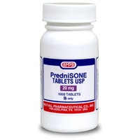 Prednisone 20 mg, 1000 tablets