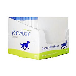 Previcox Surgery Pain Kit, 227 mg, 3 Dose,10 Packs