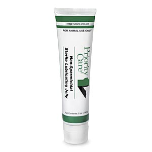 Priority Care Non-Spermicidal Sterile Lubricating Jelly. 5 oz. Tube