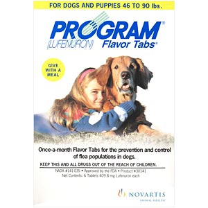 Program for Dogs 46-90 lbs, White 6 Pack