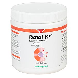 Renal K (Potassium Gluconate) Powder, 100 gm