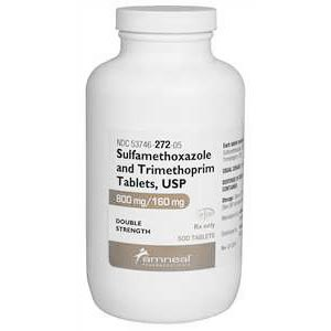 SMZ-TMP DS (Sulfamethoxazole, Trimethoprim DS) 960 mg, 500 Tablets