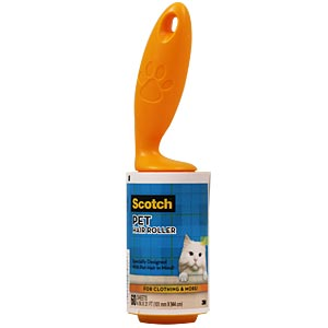 Scotch Pet Hair Roller, 4 in x 31 ft, 60 sheets