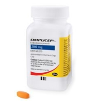 Simplicef 200 mg, 100 Tablets