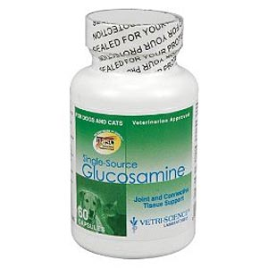 Single-Source Glucosamine for Dogs and Cats, 60 Capsules
