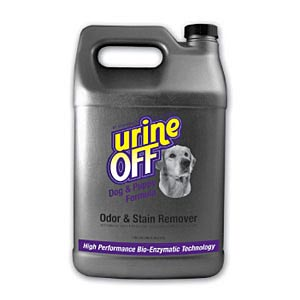 Urine-Off Odor and Stain Remover for Dogs, Gallon