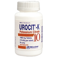 Urocit-K 10mEq (1080 mg), 100 Tablets