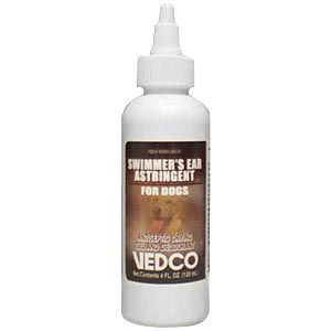 Vedco Swimmers Ear Astringent for Dogs, 4 oz