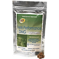 Vetri-Performance DMG Bite-Sized Chews for Dogs and Cats, 120 Soft Chews