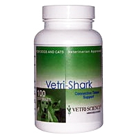 Vetri-Shark Connective Tissue Support for Cats and Dogs, 100 Capsules