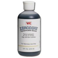 Xenodine Iodine Antiseptic Solution, 8 oz Squeeze Bottle