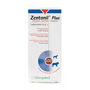 Zentonil Plus 400, 6 x 30 Tablets [180 Tablets]