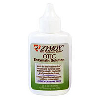 Zymox Otic Enzymatic Solution, Hydrocortisone Free, 1.25 oz