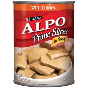 Alpo Prime Slices with Chicken in Gravy, 13.2 oz - 24 Pack