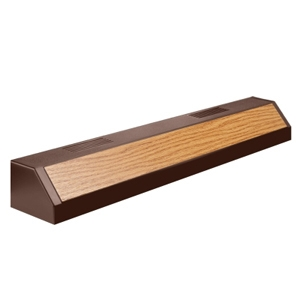 Aqueon Fluorescent Strip-Lights Oak Finish, 24""