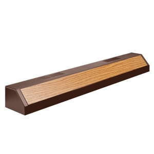 Aqueon Fluorescent Strip-Lights Oak Finish, 30""