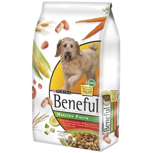 Beneful Healthy Fiesta Dog Food, 7 lb - 5 Pack