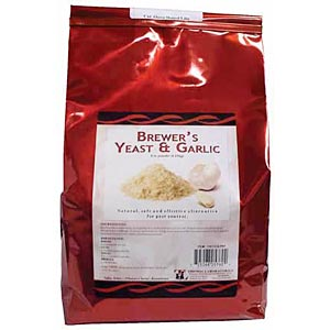 Brewer's Yeast & Garlic Powder, 5 lb