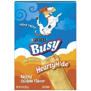 Busy Heartyhide Chicken, 9 oz - 6 Pack