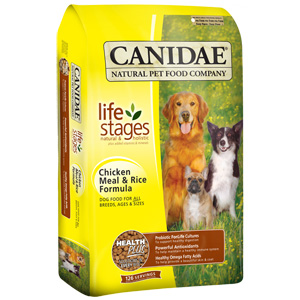 Canidae Chicken & Rice Dog Food, 5 lb - 6 Pack