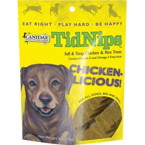 Canidae Tidnips Chicken & Rice Dog Treats, 6 oz - 12 Pack
