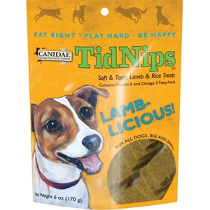 Canidae Tidnips Lamb & Rice Dog Treats, 6 oz - 12 Pack