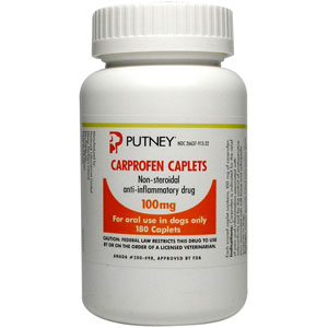 Carprofen 100 mg, 180 Caplets