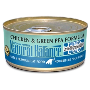 Chicken & Green Pea Formula Cat Food, 3 oz - 24 Pack