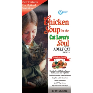 Chicken Soup Adult Cat Formula Dry Food, 6 lb - 6 Pack