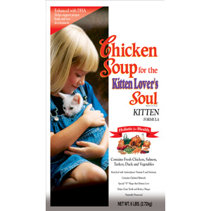Chicken Soup Kitten Formula Dry Food, 6 lb - 6 Pack