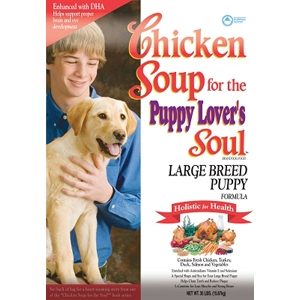 Chicken Soup Large Breed Puppy Formula Dry Food, 35 lb