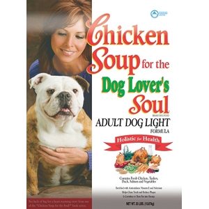 Chicken Soup Light Dog Formula Dry Food, 35 lb